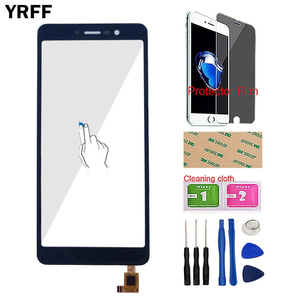 "Touch Screen Sensor For BQ Mobile BQ-5508L BQ5508L BQ 5508 Touch Screen Digitizer Panel Front Glass Panel 5.45"" Protector Film"