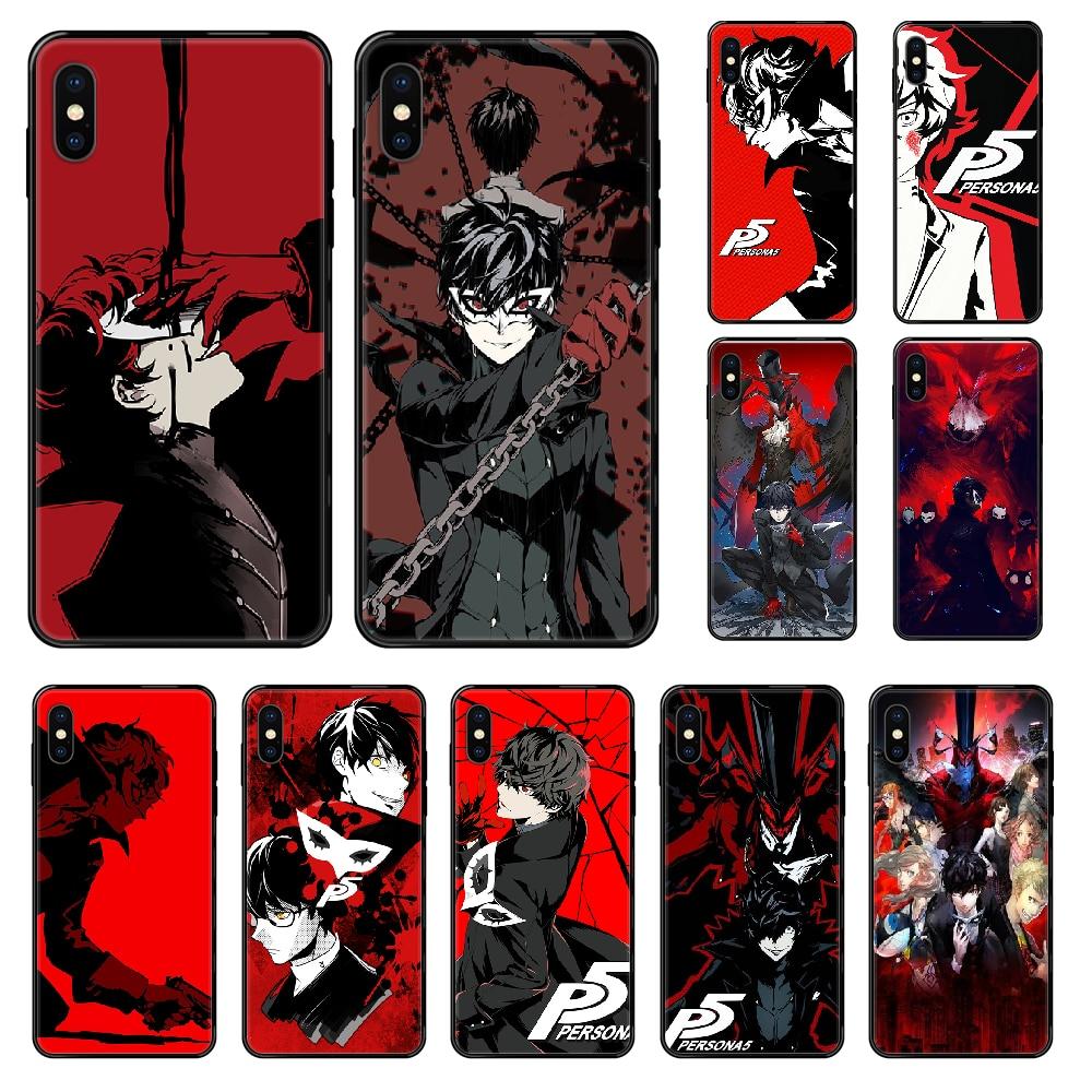Funda de móvil para iphone 4, 4s, 5, 5S, SE, 5C, 6, 6S, 7, 8 plus, X, XS, XR, 11 PRO MAX, 2020, carcasa de lujo, negra, suave