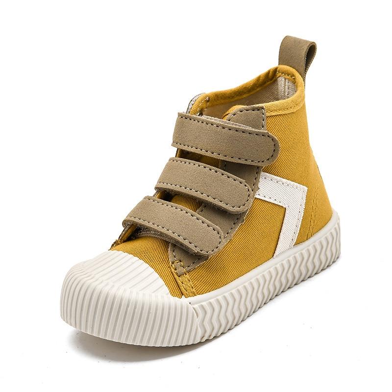 Фото - Кеды детские на плоской подошве, Модные дышащие холщовые кроссовки, высокие, Нескользящие, повседневная обувь для мальчиков и девочек, весн... drunknmunky высокие кеды и кроссовки
