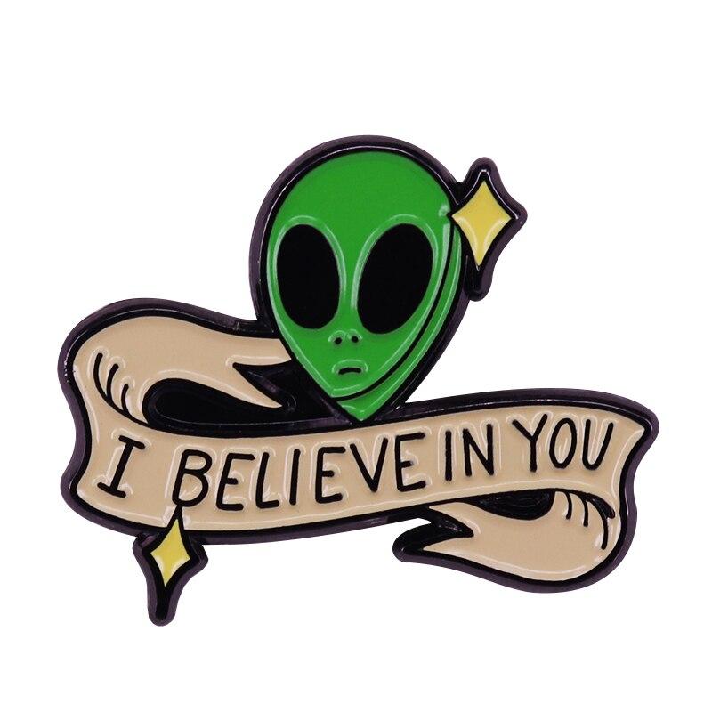 Creo que en el extranjero Humor placa gran espacio extraterrestre o la ciencia amante