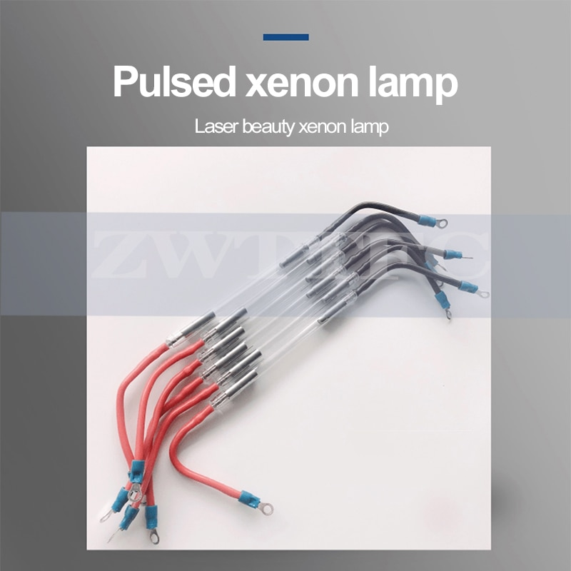 xenon lamp pulse flash ipl shr hair removal handle ngyag Laser lamp opt e light handpiece Machine beauty spare parts enlarge
