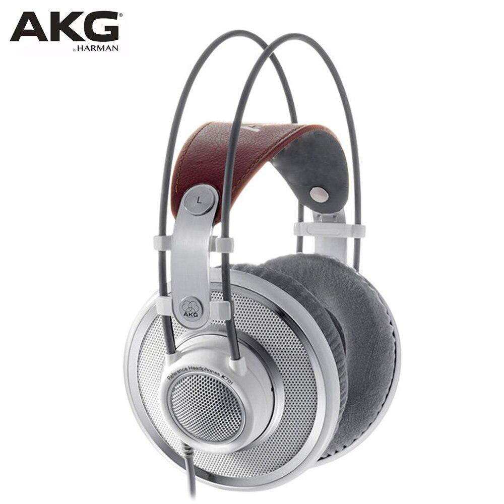Fones de Ouvido Fone de Ouvido Acg com Fio Original Monitor Profissional Alta Fidelidade Estúdio Gravação hd Fones Jogo Música Akg K701