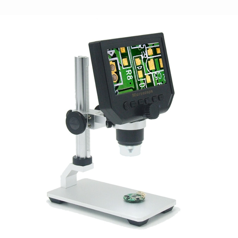 G600 600X الإلكترونية USB المجهر الرقمية لحام الفيديو المجهر كاميرا 4.3 بوصة lcd التنظير المكبرة كاميرا + LED