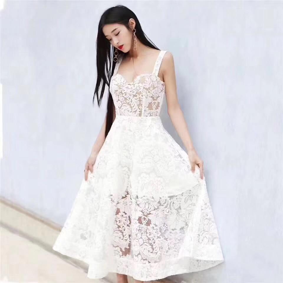 2020 fast ship 5 yards zx01 floral marfil offrow dobby bordado malla encaje tela para serrar vestido de novia
