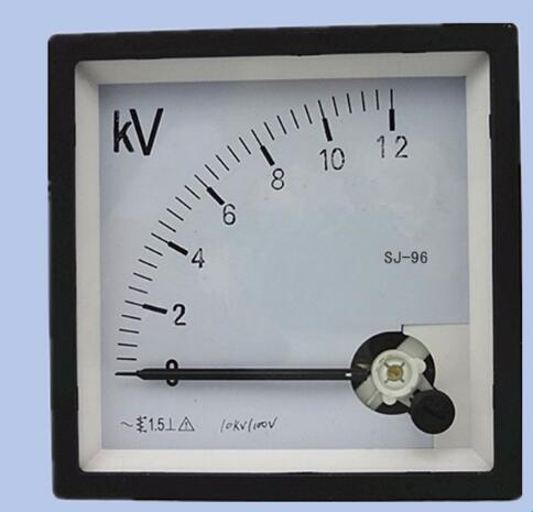 1Pcs J-96 10KV/100V voltmeter CP-96 SQ-96 JY-96 SE-96 96*96mm