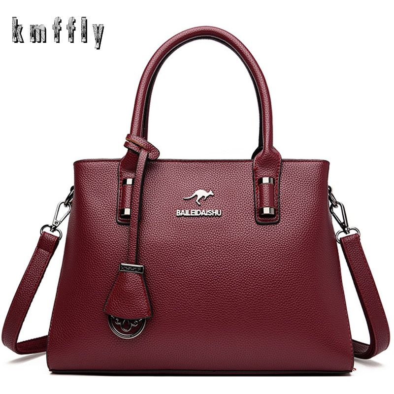 New Leather Luxury Handbags Women Bags Designer Ladies Crossbody Hand Bags For Women 2020 Casual Tot