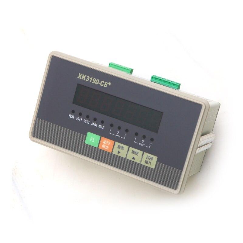 XK3190-C8 + وزنها عرض تحكم الإلكترونية الكمية التعبئة وزنها جهاز خزان أداة الصناعية