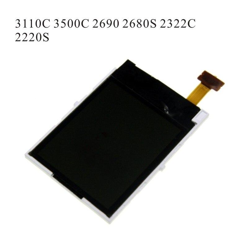 Reparación de sustitución pantalla LCD para Nokia 2630 2600C 1680C 3110C 3500C 2690, 2322 de 5130 2700C 2730C E63 E71 E72 + destornillador herramientas