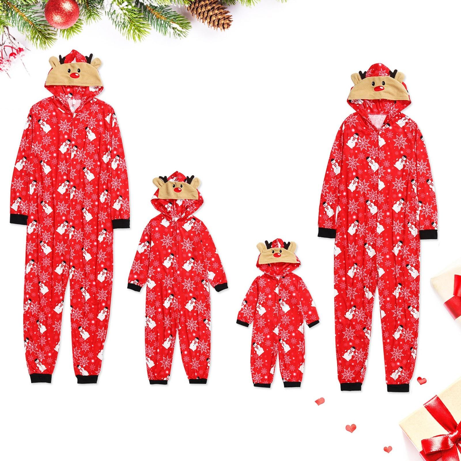 Pelele navideño para bebé, ropa a juego para Familia, pijamas, ropa de...