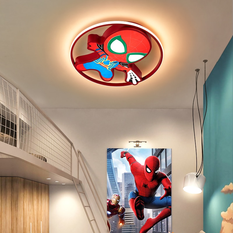 الحديثة led الثريا للأطفال غرفة الطفل lumaria تيتو الكرتون LED ثريا تركب بالسقف للبنين بنات نوم مصباح السقف