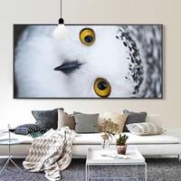Peinture a lhuile animale crochet bec oiseau toile peinture bureau salon couloir decoration murale