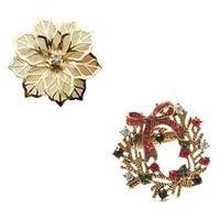 promotion 10pcs flower design napkin rings metal gold napkin buckle napkin ring holder 6pcs christmas wreath napkin rings