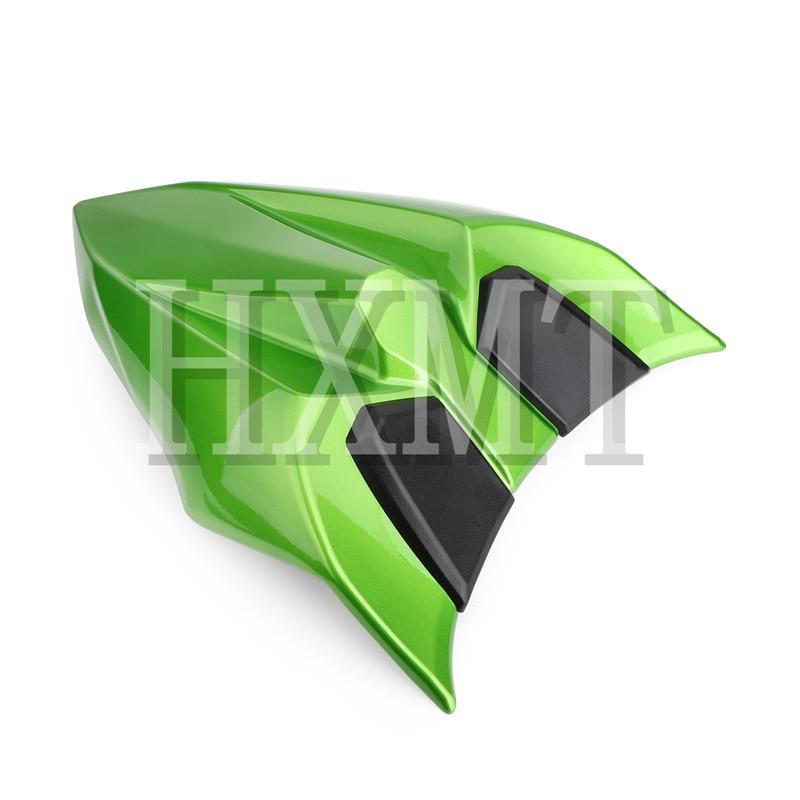 For Kawasaki Ninja 650 Z650 ER6F 2017 2018 2019 2020 green motorcycle Pillion Rear Seat Cover Cowl Solo Seat Cowl Ninja650 ER-6F