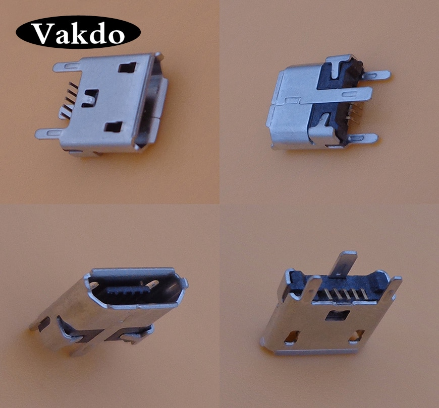 10 Uds. Para UE MegaBoom micro mini usb conector jack cargador puerto de carga hembra 5 pin 5 pines Reparación de reemplazo de la cola
