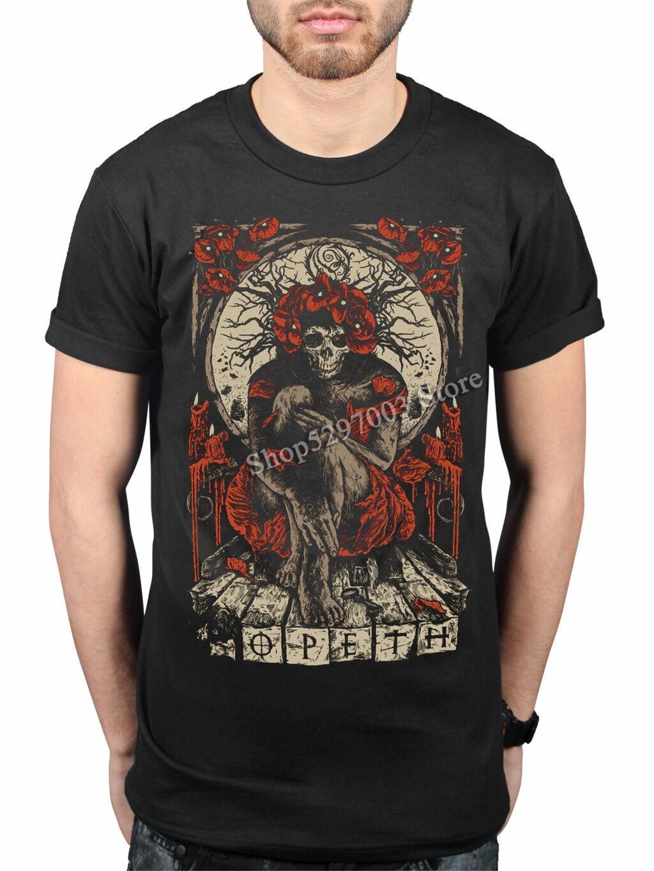 Camisa de metal rock bloodbath katatonia merch retro camiseta