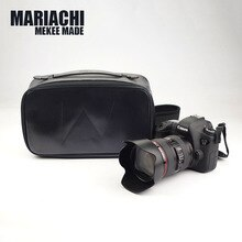 Genuine Leather DSLR Waterproof Photo Camera Bag Case For SONY A9 A7R3 A7M3 A7R2 A7S2 A72 a7R4 A7 A7
