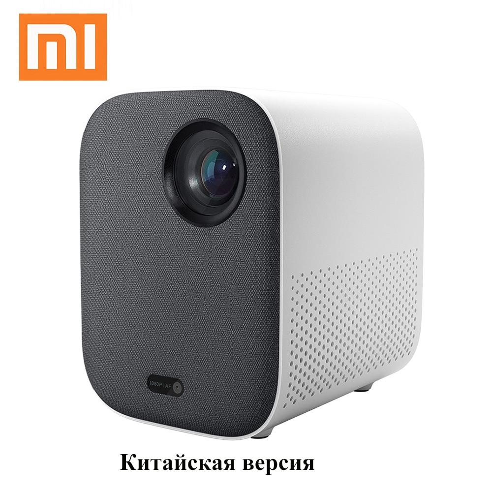Проектор Xiaomi Mi Smart Compact  mini projector  китайская версия, Full HD 1080P DLP 500ANSI, Android wifi подключить телефон