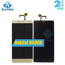 For Oukitel K6000 LCD in Mobile phone LCD Display and TP Touch Screen Digitizer Assembly lcds +Tools