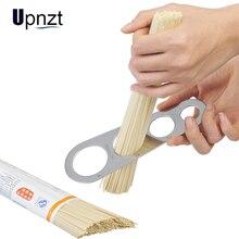 De acero inoxidable medidor de espagueti fácil compensación Pasta herramienta de medir, regla en parte suministros de cocina herramientas de Control