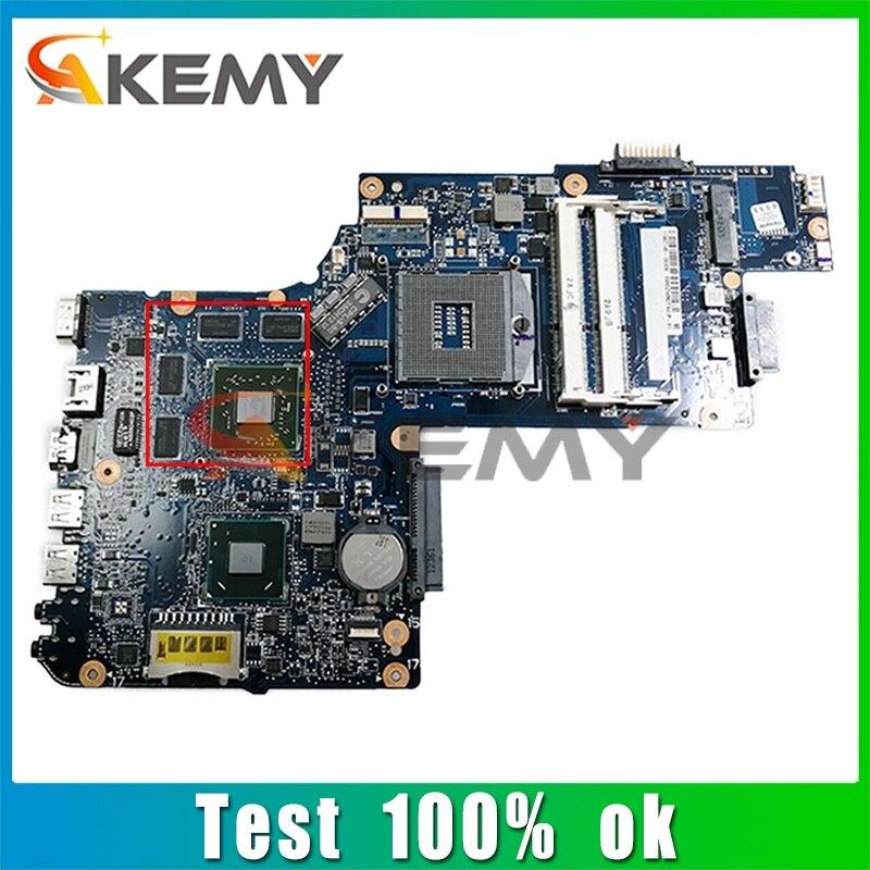 AKEMY متوافقة مع توشيبا الأقمار الصناعية C850 216-0833000 SLJ8E DDR3 دفتر اللوحة الأم اختبار كامل 100% العمل