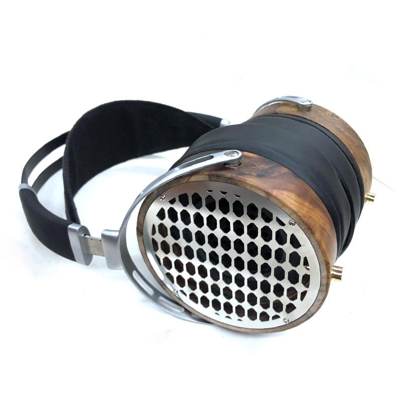 105MM Over Ear HiFi Headphones DIY Large Headphones Housing for 50MM 52MM 53MM Speaker Unit Metal He