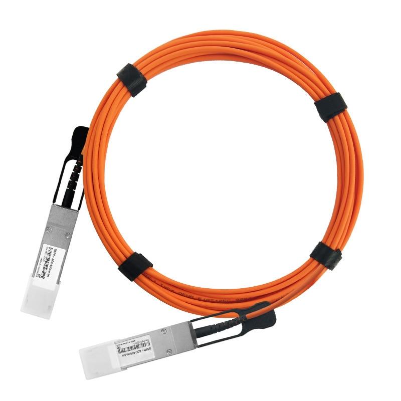La AOC 40Gbps QSFP + óptico activo Cable Compatible 40G a 40G QSFP + AOC Cable