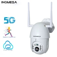 inqmeag 5g hd 2mp outdoor ptz cloud ip camera wireless security waterproof network video surveillance cctv night vision camera