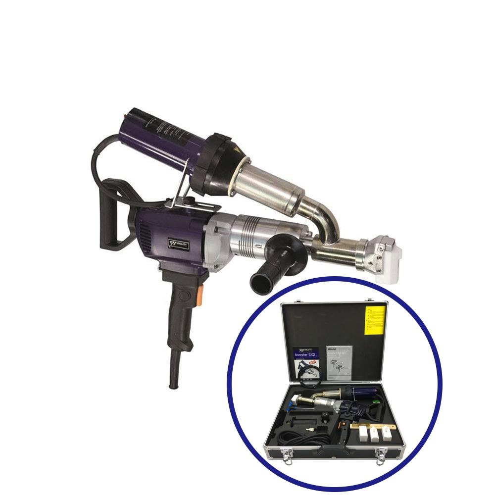 WELDY 3400W Handheld Plastic Extrusion Welding Machine kit EX2 Hot Air Plastic Welder Gun Vinyl Weld Extruder EX3 Welder Machine