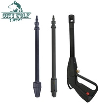 Yüksek basınçlı yıkayıcı sprey su tabancası M14x1.2mm konu bağlı plastik tabanca Lavor Sterwin zemin duvar temizleme aksesuarı