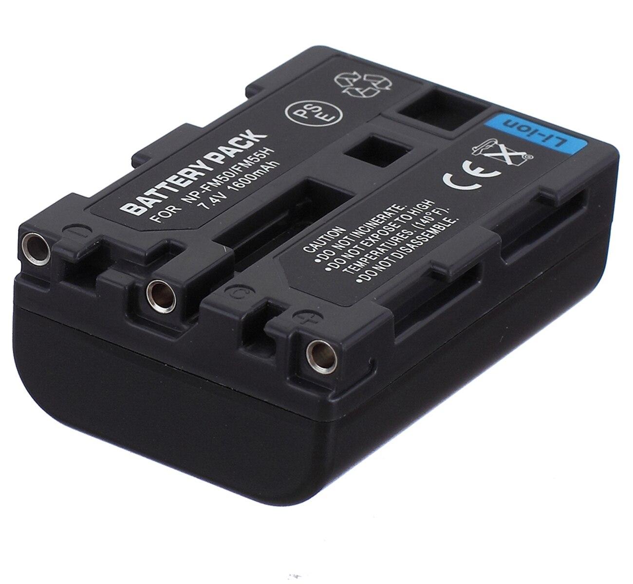 Paquete de baterías para videocámara Sony HVR-A1, HVR-A1E, HVR-A1J, HVR-A1N, HVR-A1P, HVR-A1U...