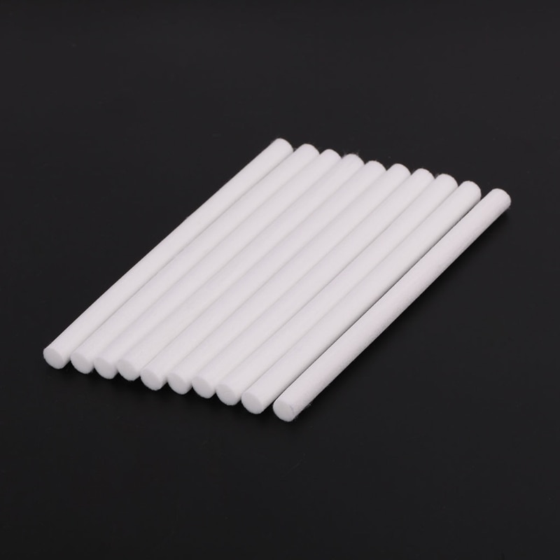 10pcs 8*130mm Humidifiers Filters Cotton Swab for USB Air Ultrasonic Humidifier 72XF