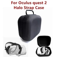 bag for oculus quest 2 case portable boxes vr headset travel carrying case hard eva storage box bag for oculus quest2 halo strap