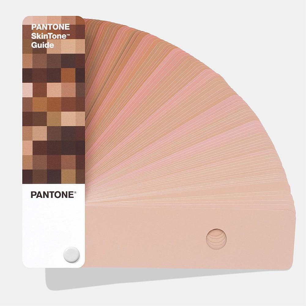 Pantone Skintone цветное руководство STG201 международный стандарт цветная