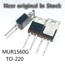 10PCS/LOT  MUR1560G  1560G  fast recovery diode 15a 600v  TO-220  New original spot hot sale