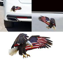 Wingswing Eagle Car Sticker American Flag Bald Eagle Car sticker PVC colorful Decals Motorcycle Acce