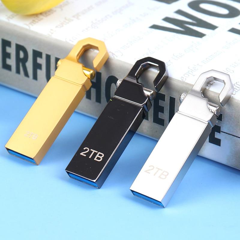 Unidad Flash USB 3,0 de alta velocidad, memoria de almacenamiento externo de disco U de 2TB