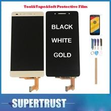 Pour Huawei Honor 7 PLK-TL01H PLK-L01 PLK-UL00 PLK-AL10 affichage CD écran tactile capteur numériseur Honor7 noir blanc or avec Kit