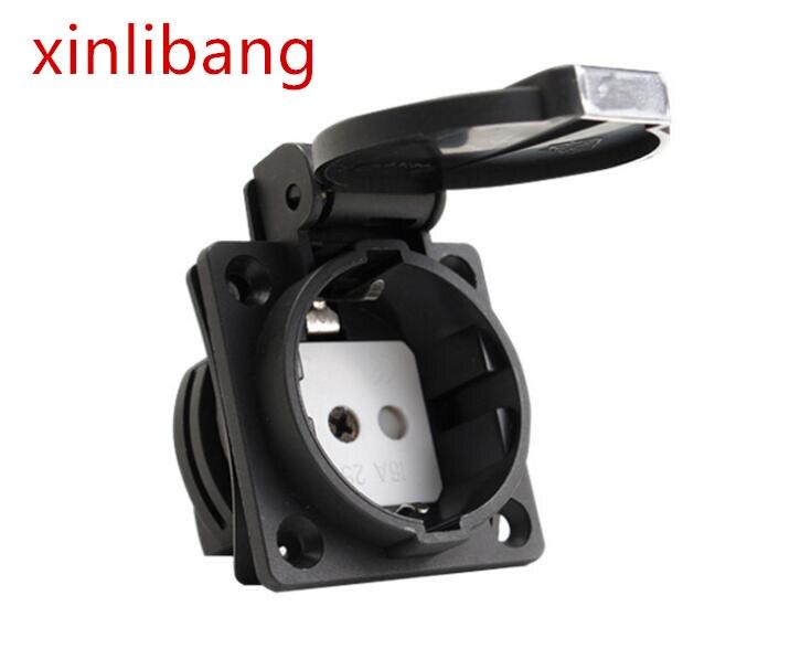250 V eléctrico alimentación de CA universal europeo de la industria con...