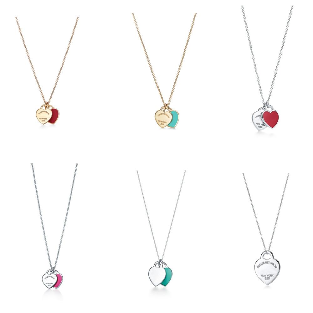 Роскошное-и-модное-ожерелье-из-стерлингового-серебра-s925-с-двойным-сердцем-Женское-Ожерелье-подходит-для-подарка-на-свадьбу-и-день-рождени