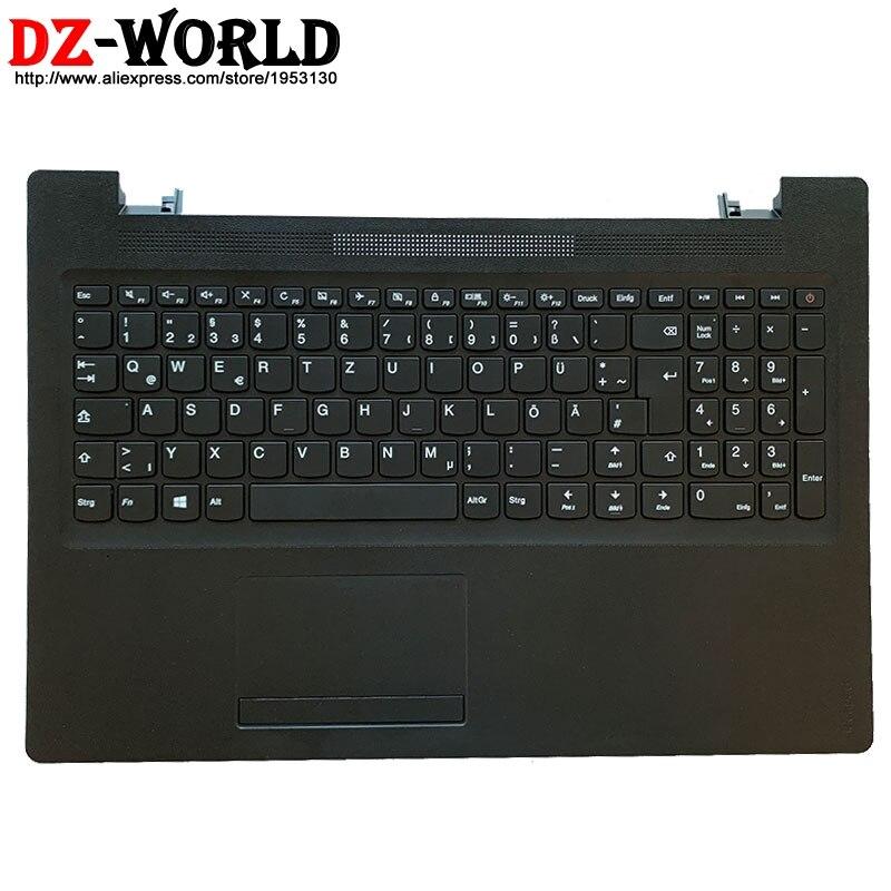 Carcasa nueva C, Cubierta superior con reposamanos con teclado alemán GER Touchpad para Lenovo Ideapad 110-15ACL IBR AST Laptop 5CB0M72598