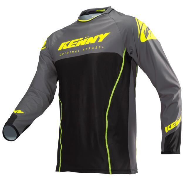 Camiseta de manga larga de motocross para hombre, de manga larga y transpirable