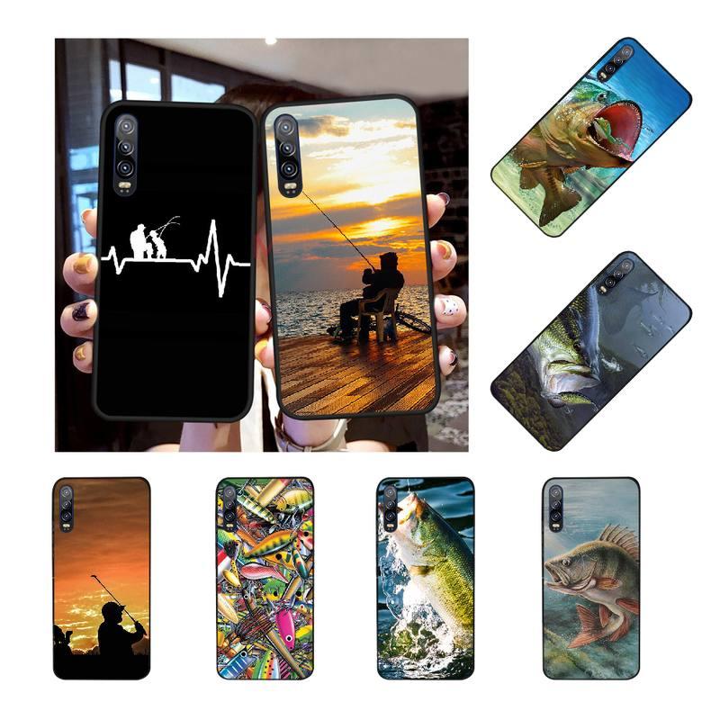 NBDRUICAI Angling Go Fishing TPU funda de silicona suave para teléfono Huawei P30 P20 P10 P9 P8 Mate 20 10 Pro Lite