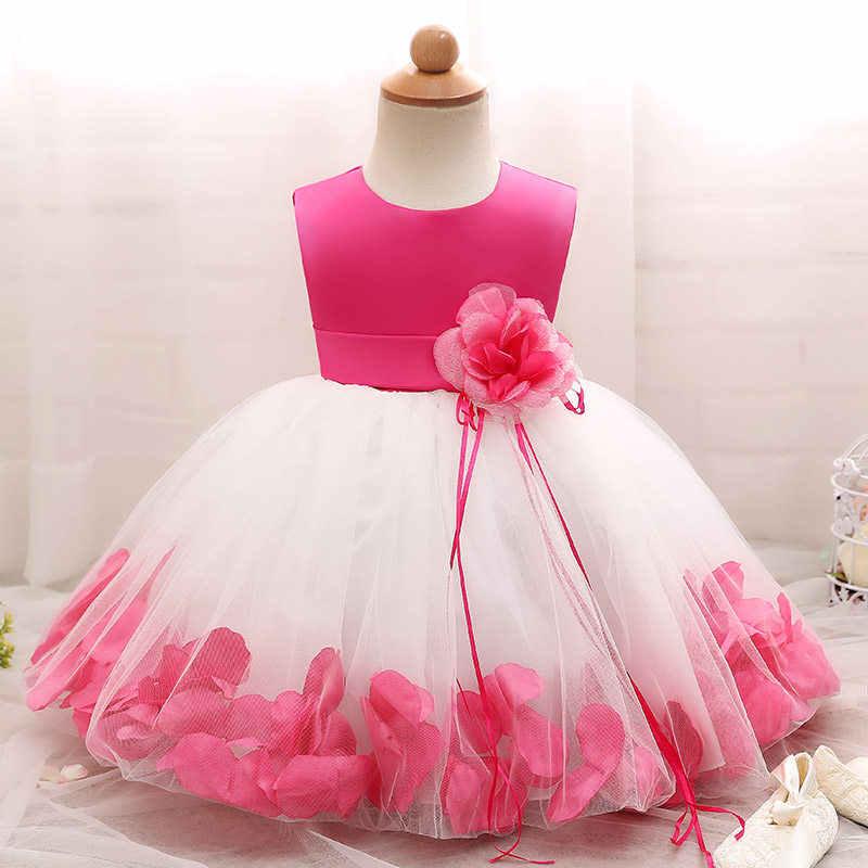 קיץ פרח בנות חתונת שמלת תינוק בנות הטבלה עוגת שמלות למסיבה 1 שנה תינוקת יום הולדת שמלת טבילת בגדים Dress Baptism Baby Girl Christeningbaptism Clothes Aliexpress