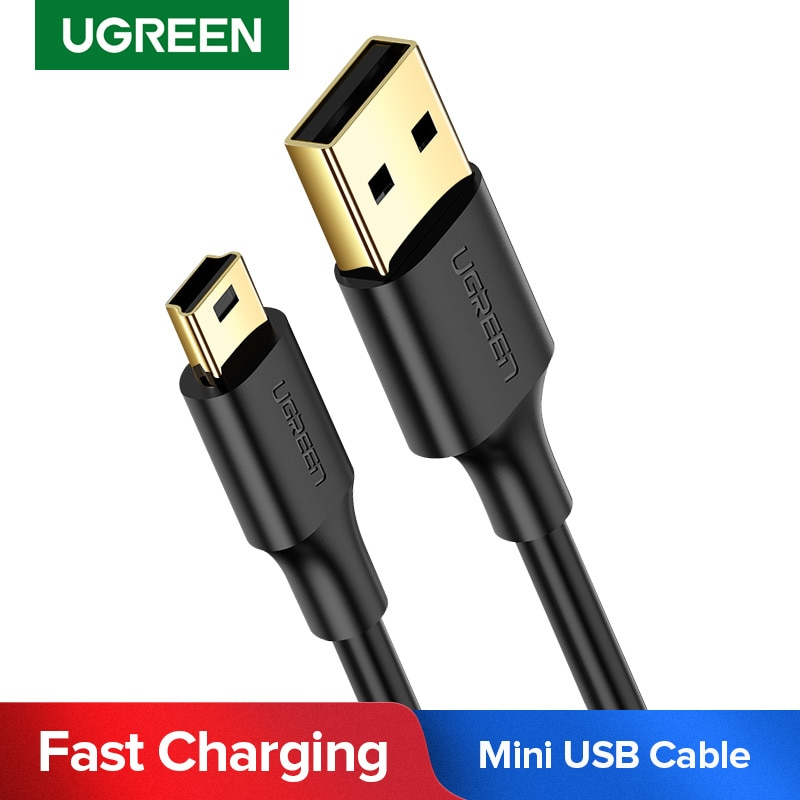Ugreen Mini USB Cable Mini USB to USB Fast Data Charger Cable for MP3 MP4 Player Car DVR GPS Digital