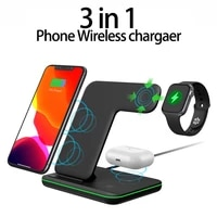 new 3 in 1 15w qi fast wireless charger stent dock station for iphone 12 11 pro xs max xr x 8 apple watch se 6 5 4 3 airpods pro
