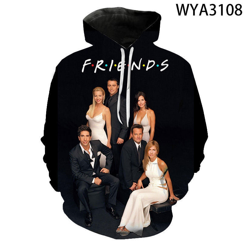 Spring and Autumn New Men's and Women's Hoodies Fashion Movie 3D Printing Children's Pullover Sweater Casual Coat