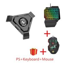 PUBG Mobile Gamepad Controller Gaming Tastatur Maus Konverter Für Android ios zu PC Bluetooth 4,1 Adapter Pk gamesir x1