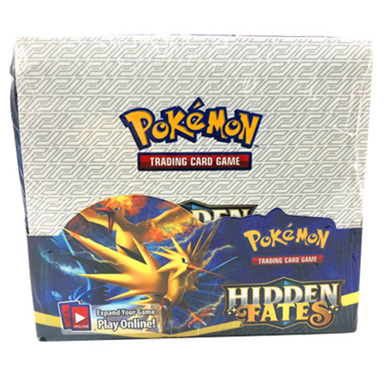 324pcs Pokemones cards Hidden Fates  Edition in English version Booster Box Collectible Trading Card