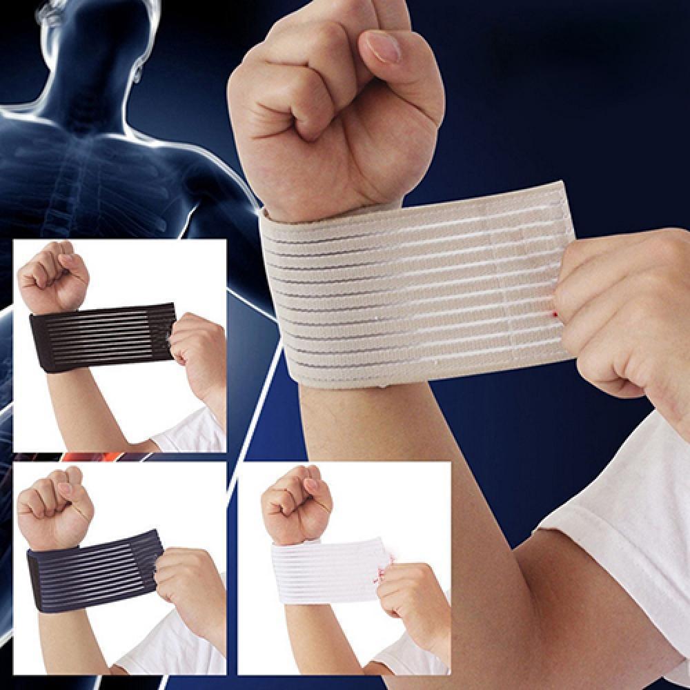 Новинка, эластичный бандаж на запястье, наколенник для спортзала, искусственная защита, персональная защита здоровья, бандаж и поддержка s, ...