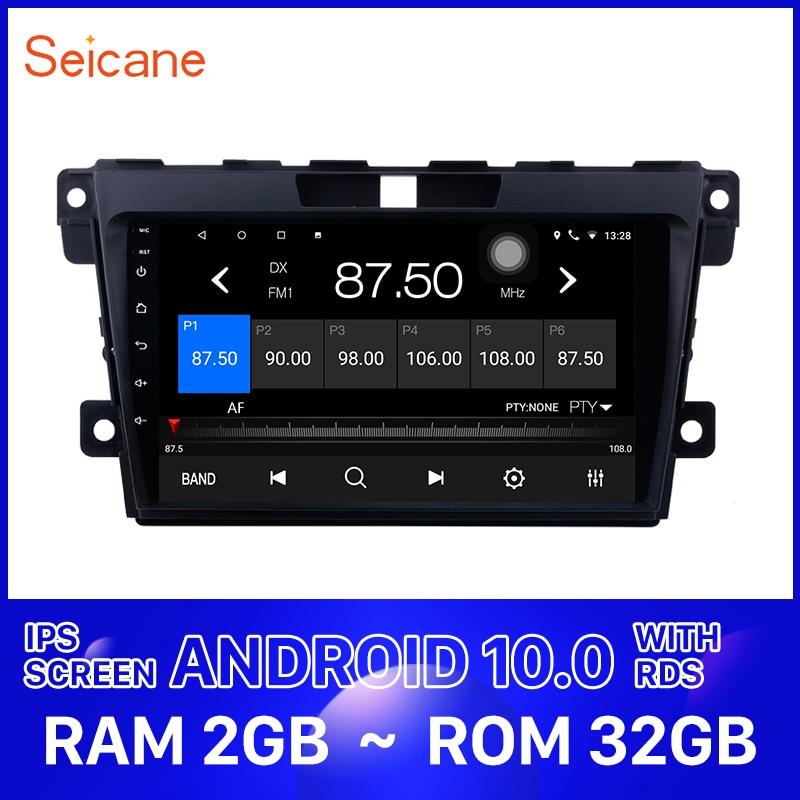 "Seicane GPS para coche 2DIN 9 ""HD Android 10,0 Multimedia navegación jugador para 2007, 2008, 2009, 2010, 2011-2014 MAZDA CX-7 cx7 cx 7 Auto Radio"